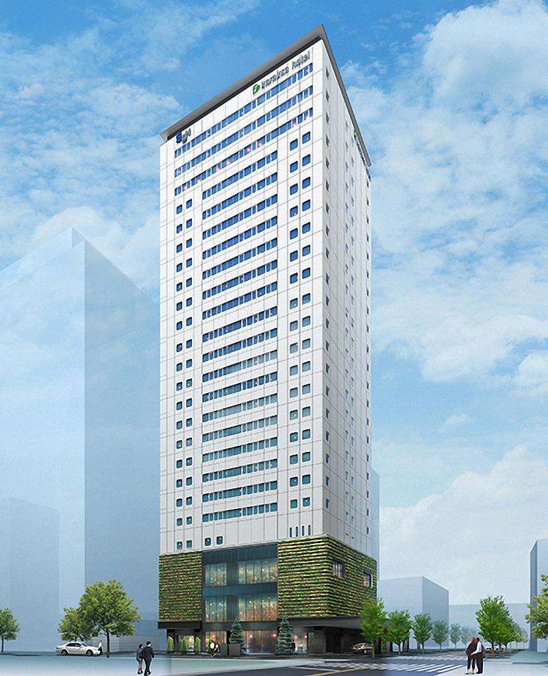 からくさホテルグランデ新大阪タワー 完成イメージ図
