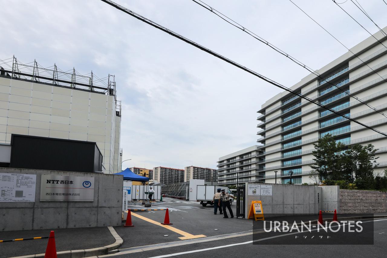 大阪研修センタIII期(NTT西日本 新本社ビル)2019年8月 01