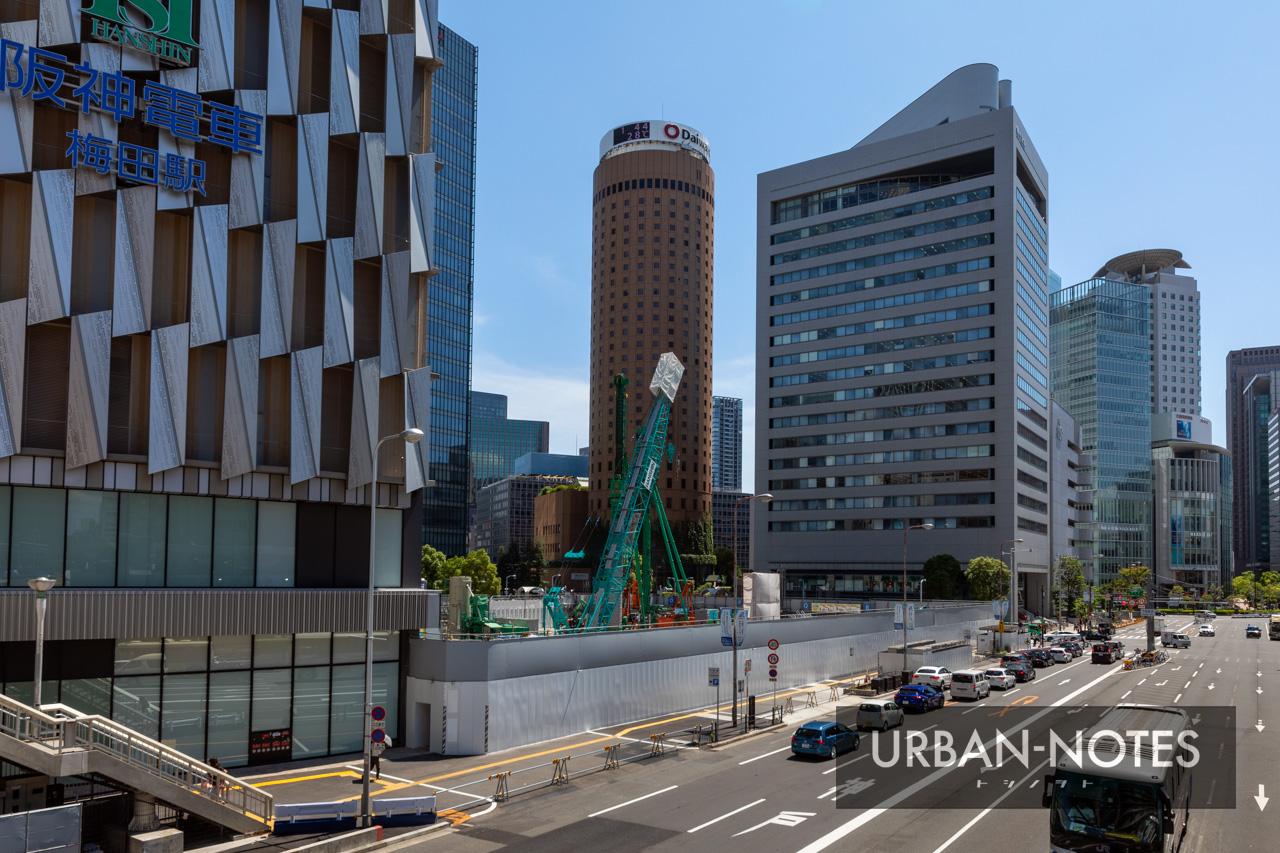 大阪梅田ツインタワーズ・サウス(梅田1丁目1番地計画) 2019年7月 03
