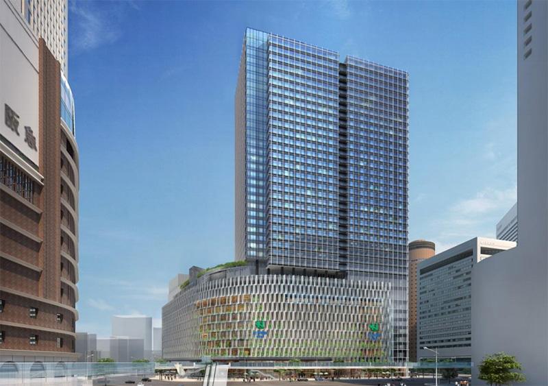 大阪梅田ツインタワーズ・サウス(梅田1丁目1番地計画) 完成イメージ図