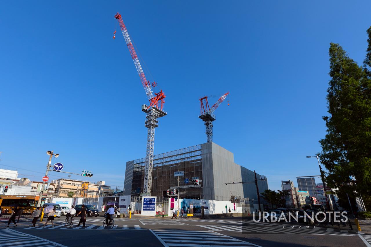 プラウドタワー堺東(堺東駅南地区再開発)2019年7月 01