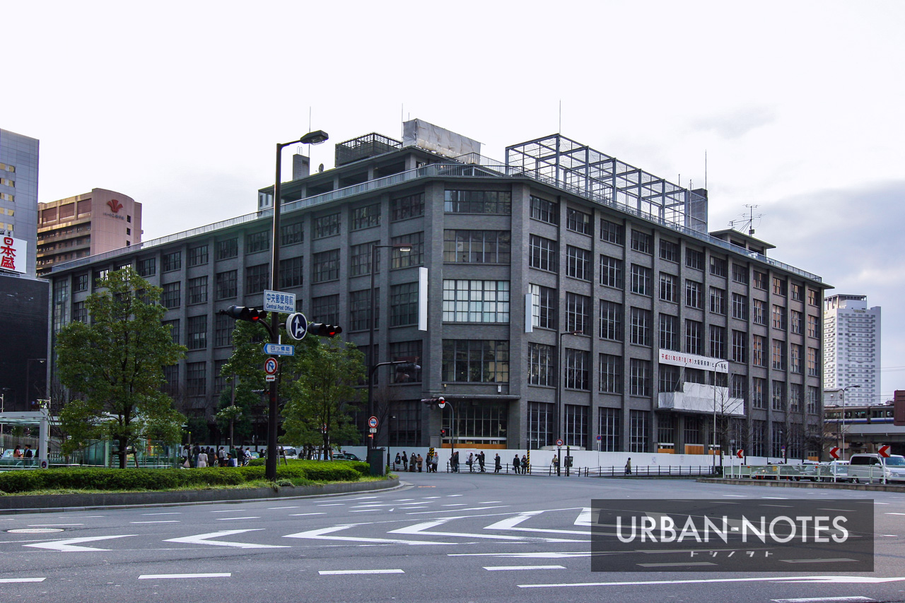 旧大阪中央郵便局 2010年3月