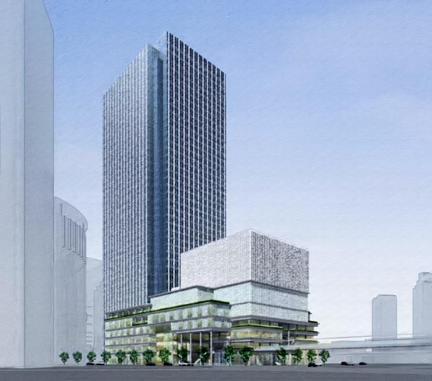梅田3丁目計画 完成イメージ図