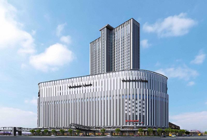 ヨドバシ梅田タワー 完成イメージ図 01