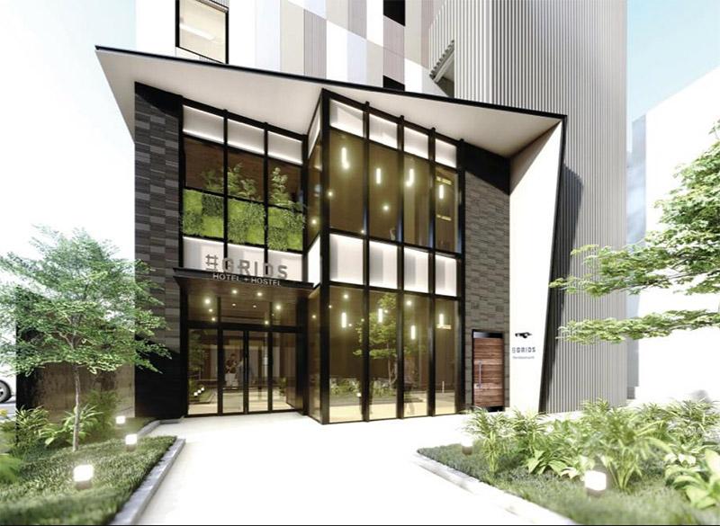 GRIDS (仮称)大阪難波ホテル計画 完成イメージ図 02