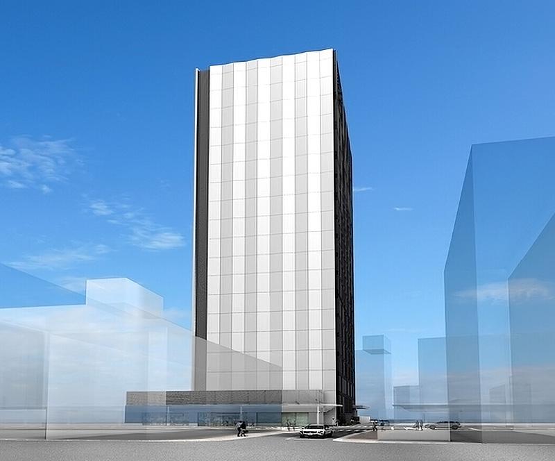 新日本橋ビル(仮称) NTTコム大阪第6データセンター 完成イメージ図