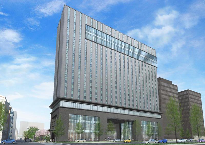 大阪エクセルホテル東急(積和不動産関西南御堂ビル)完成イメージ図 01