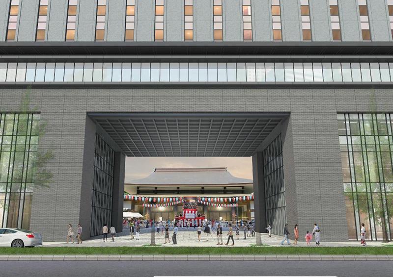 大阪エクセルホテル東急(積和不動産関西南御堂ビル)完成イメージ図 02