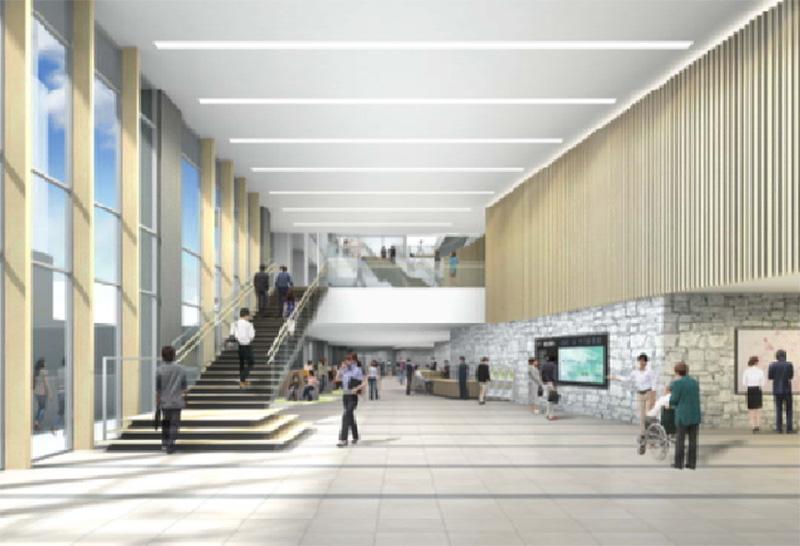 大阪第6地方合同庁舎 完成イメージ図 内部