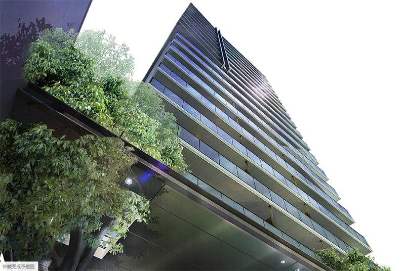 プレミストタワー大阪上本町 完成イメージ図