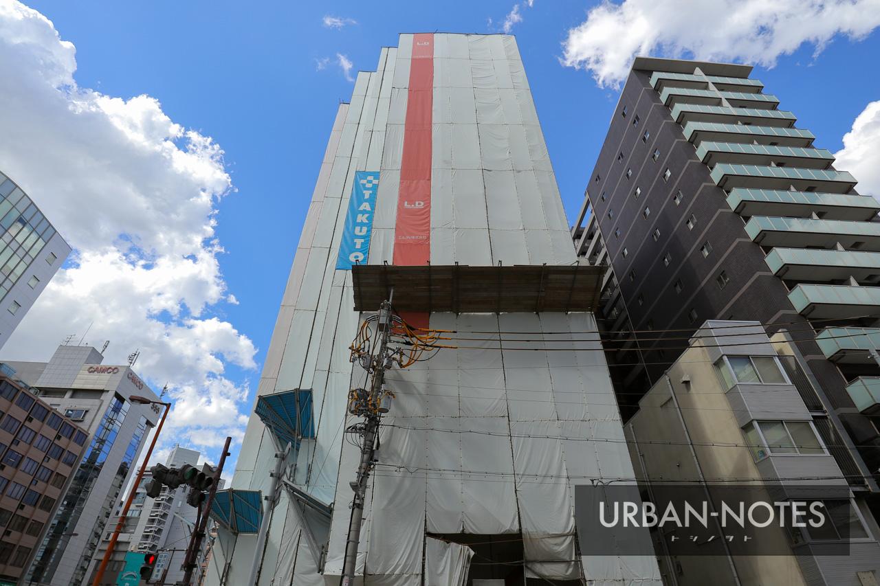 TAKUTO HOTEL OSAKA OTEMON メディカルサポートホテルPJ 2019年9月 02