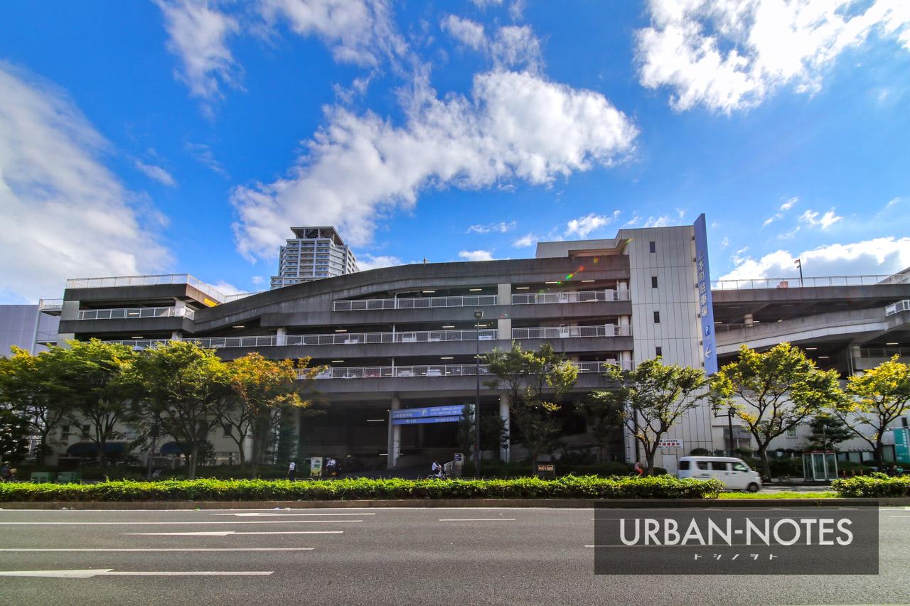 近鉄大阪上本町駅ターミナル再開発 上本町駐車場 2019年9月
