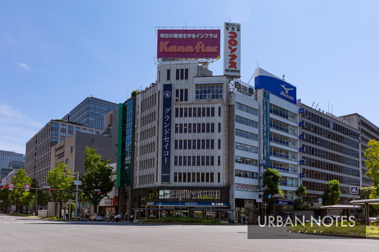 淀屋橋駅西地区第一種市街地再開発事業 2019年7月