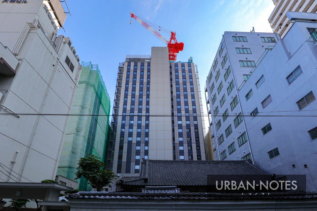 (仮称)曽根崎1丁目地点新築工事 ホテル エルシエント大阪 2019年10月 03