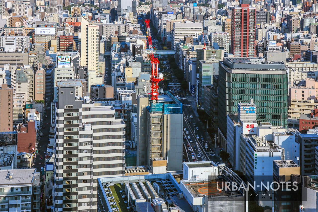 (仮称)曽根崎1丁目地点新築工事 ホテル エルシエント大阪 2019年10月 04