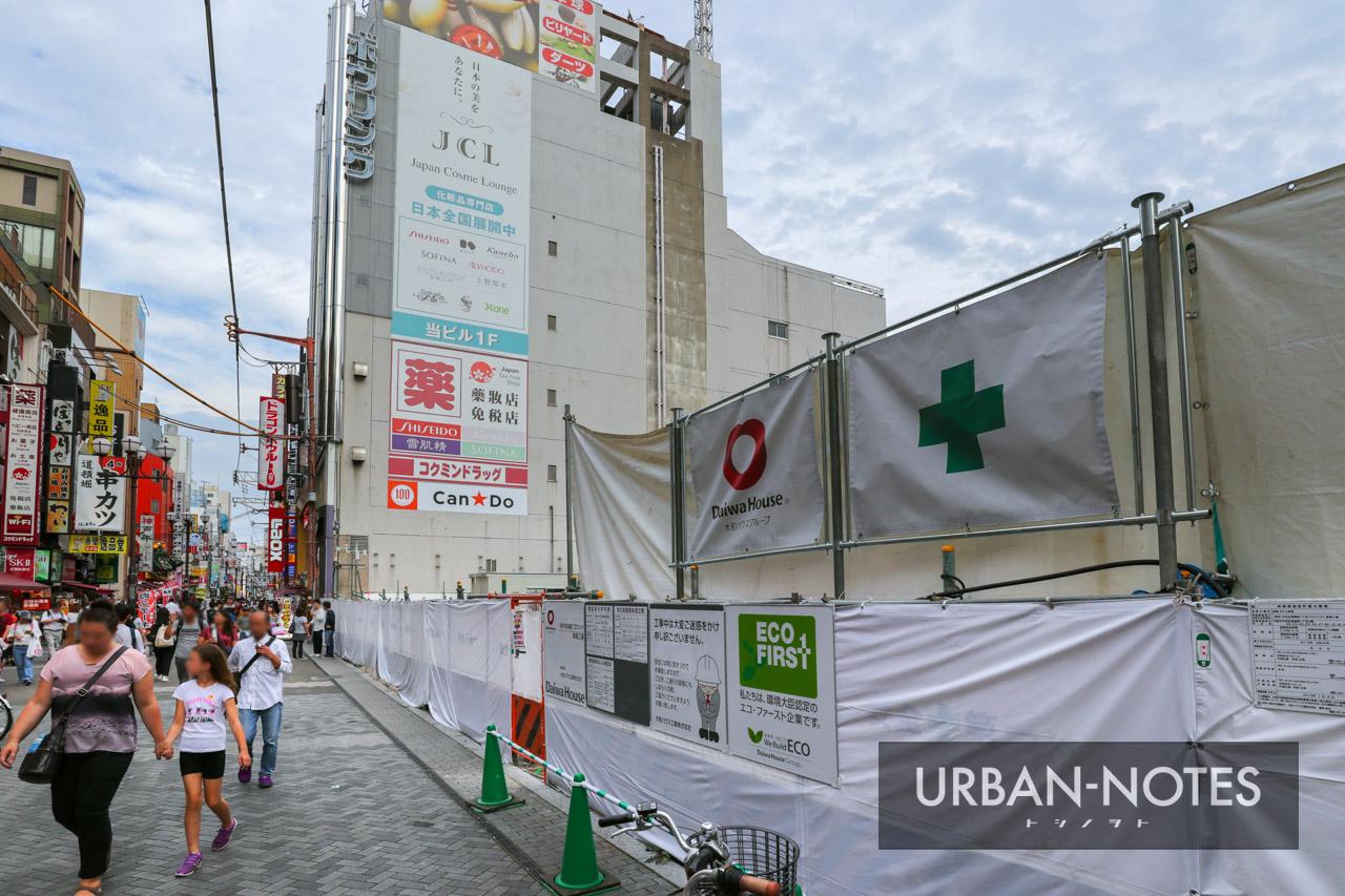(仮称)ホテルフォルツァ大阪道頓堀 中央区道頓堀1丁目プロジェクト 2019年9月 01