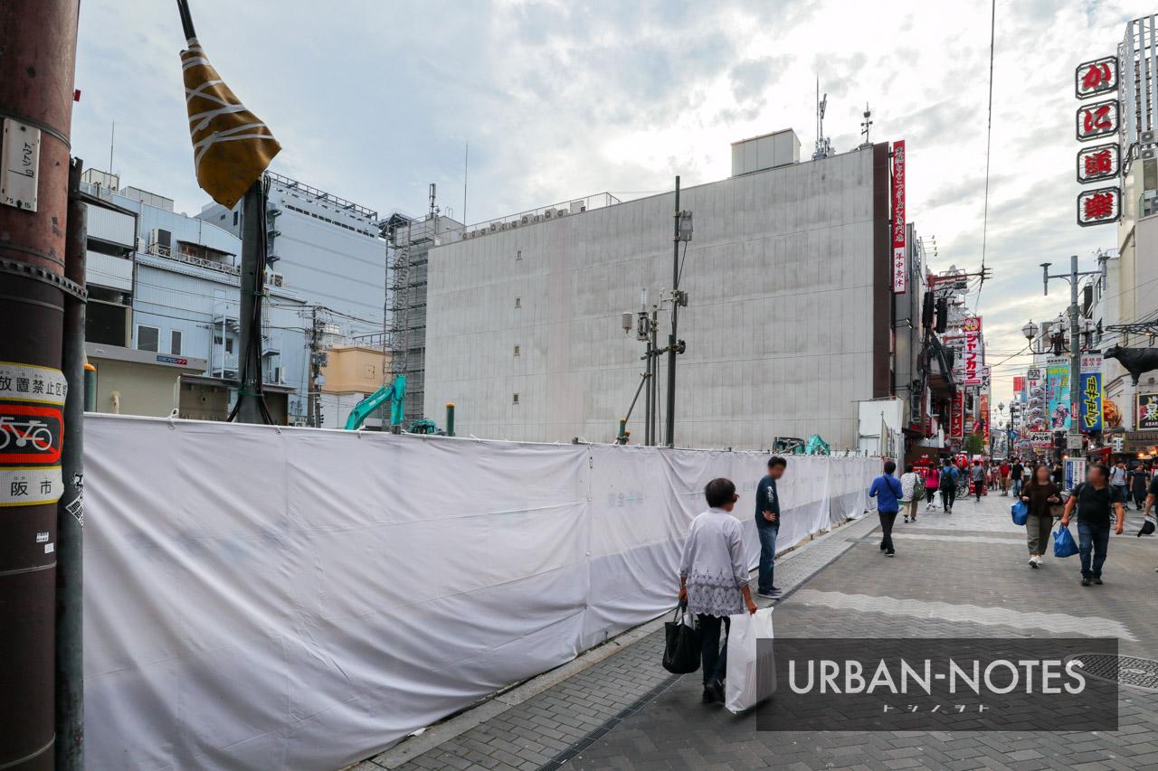 (仮称)ホテルフォルツァ大阪道頓堀 中央区道頓堀1丁目プロジェクト 2019年9月 03