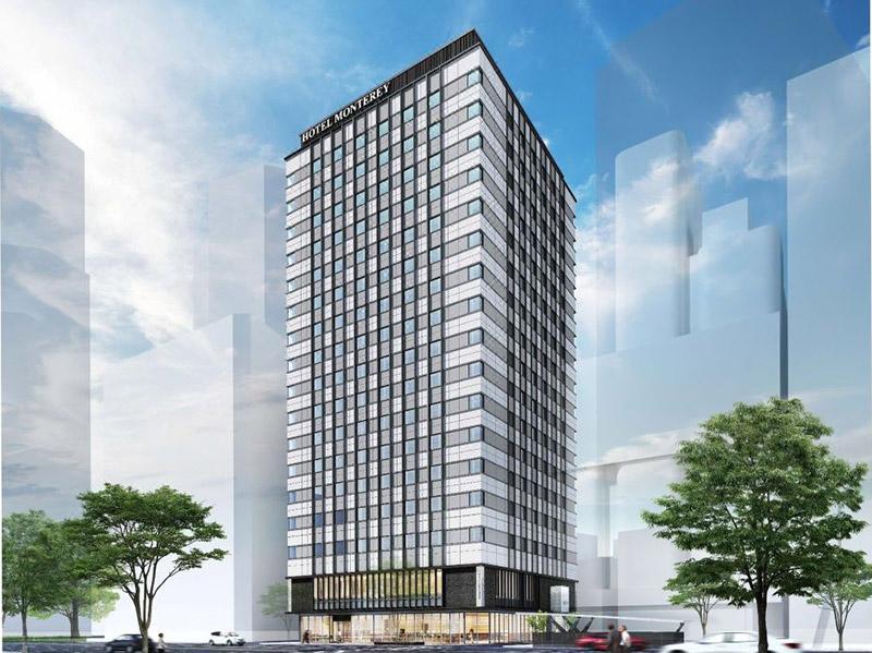 ホテルモントレ ル・フレール大阪 完成イメージ図