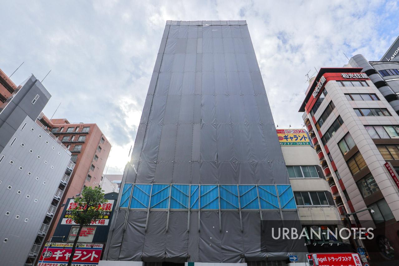 (仮称)ホテルビスタ大阪なんば 中央区宗右衛門町ホテル計画 2019年9月 02