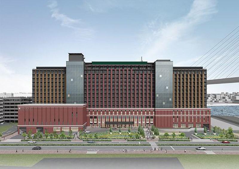 リーベルホテル アット ユニバーサル・スタジオ・ジャパン 完成イメージ図