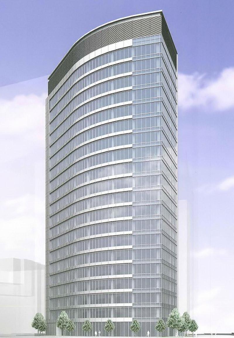 御堂筋フロントタワー 完成イメージ図