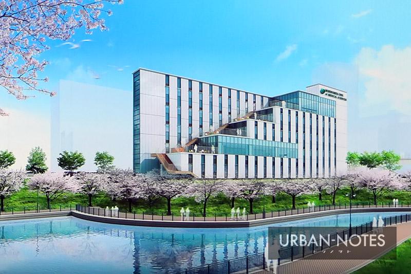 森ノ宮医療大学 新校舎(診療放射線学科) 完成イメージ図