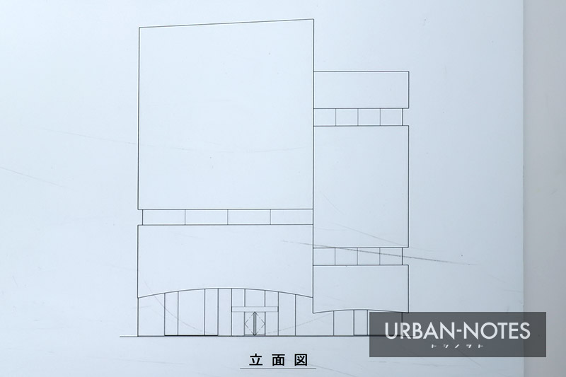 (仮称)大阪Mプロジェクト 立面図