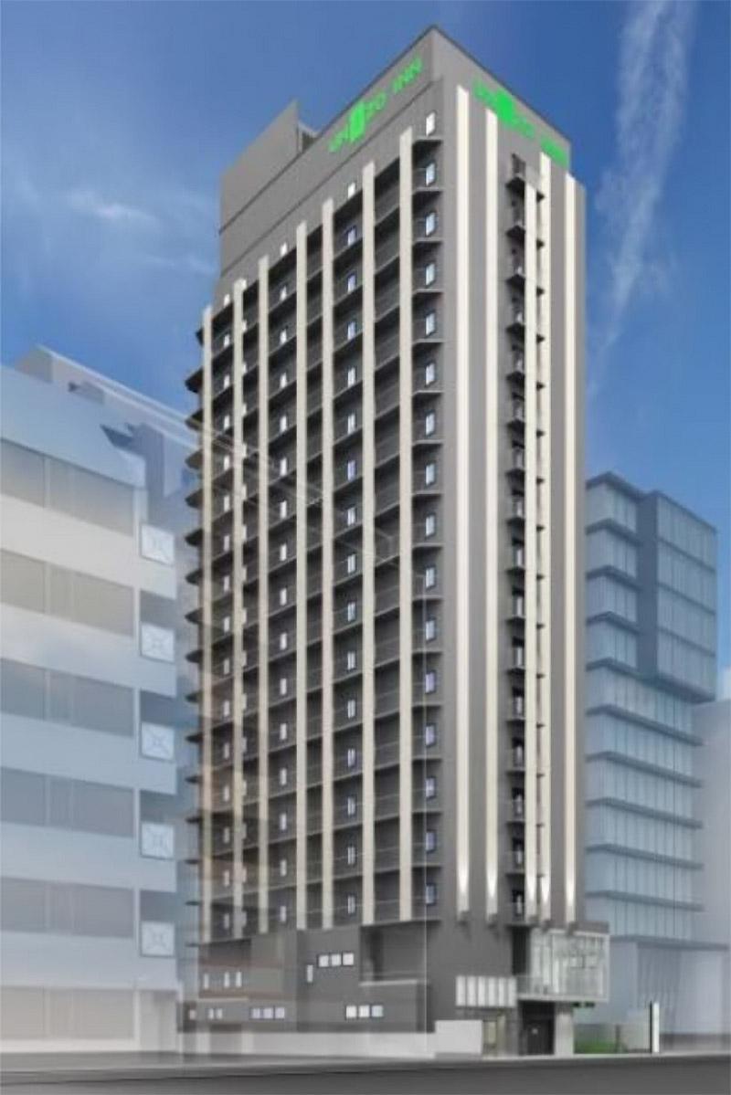 ユニゾイン大阪北浜 完成イメージ図