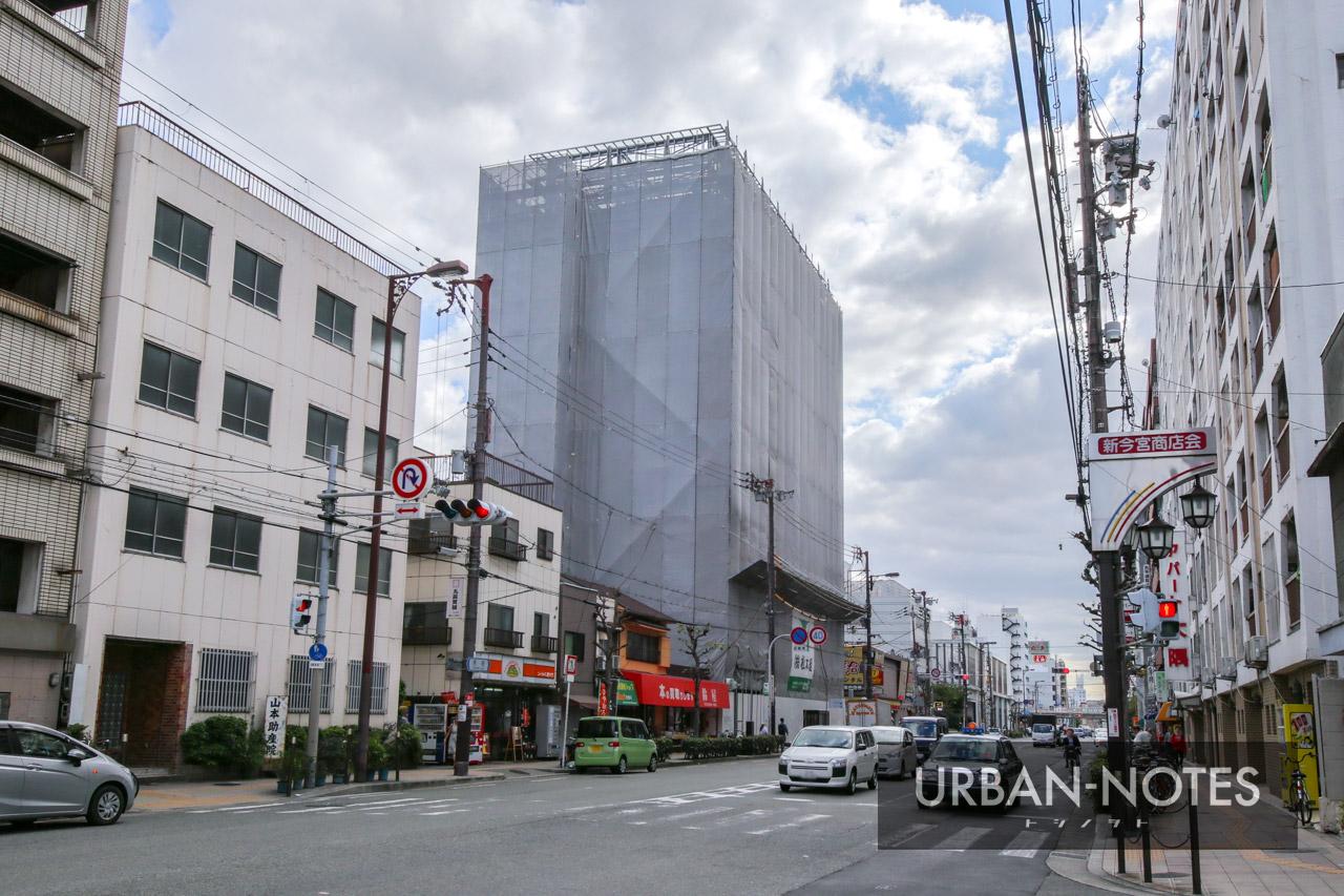 (仮称)浪速区恵美須東二丁目ホテルPJ 新築工事 2019年10月 01