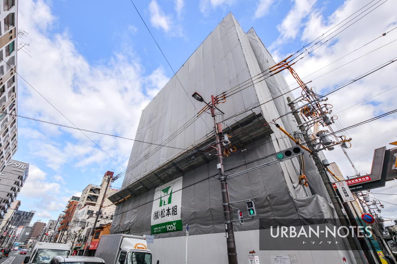(仮称)浪速区恵美須東二丁目ホテルPJ 新築工事 2019年10月 03