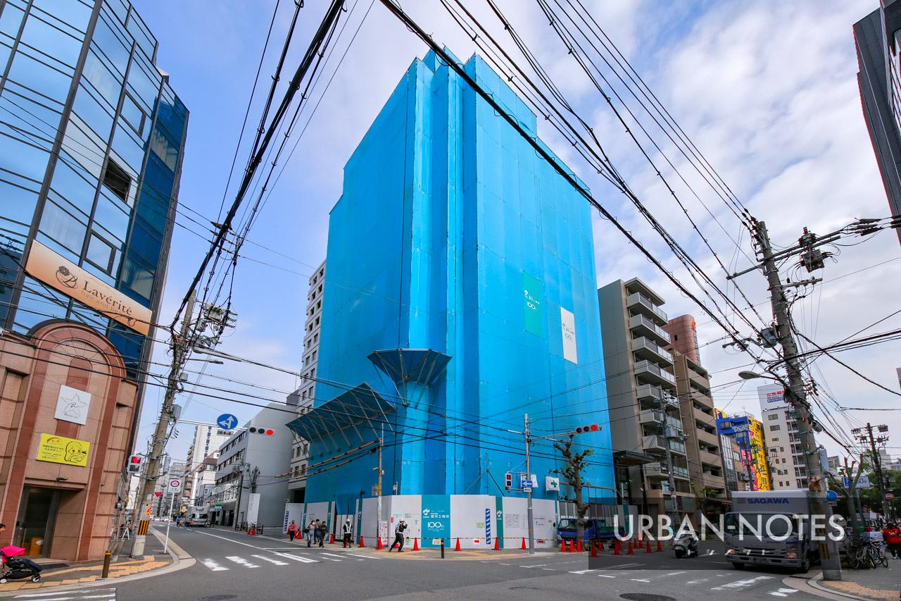 (仮称)北堀江1丁目計画 新築工事 2019年11月 01