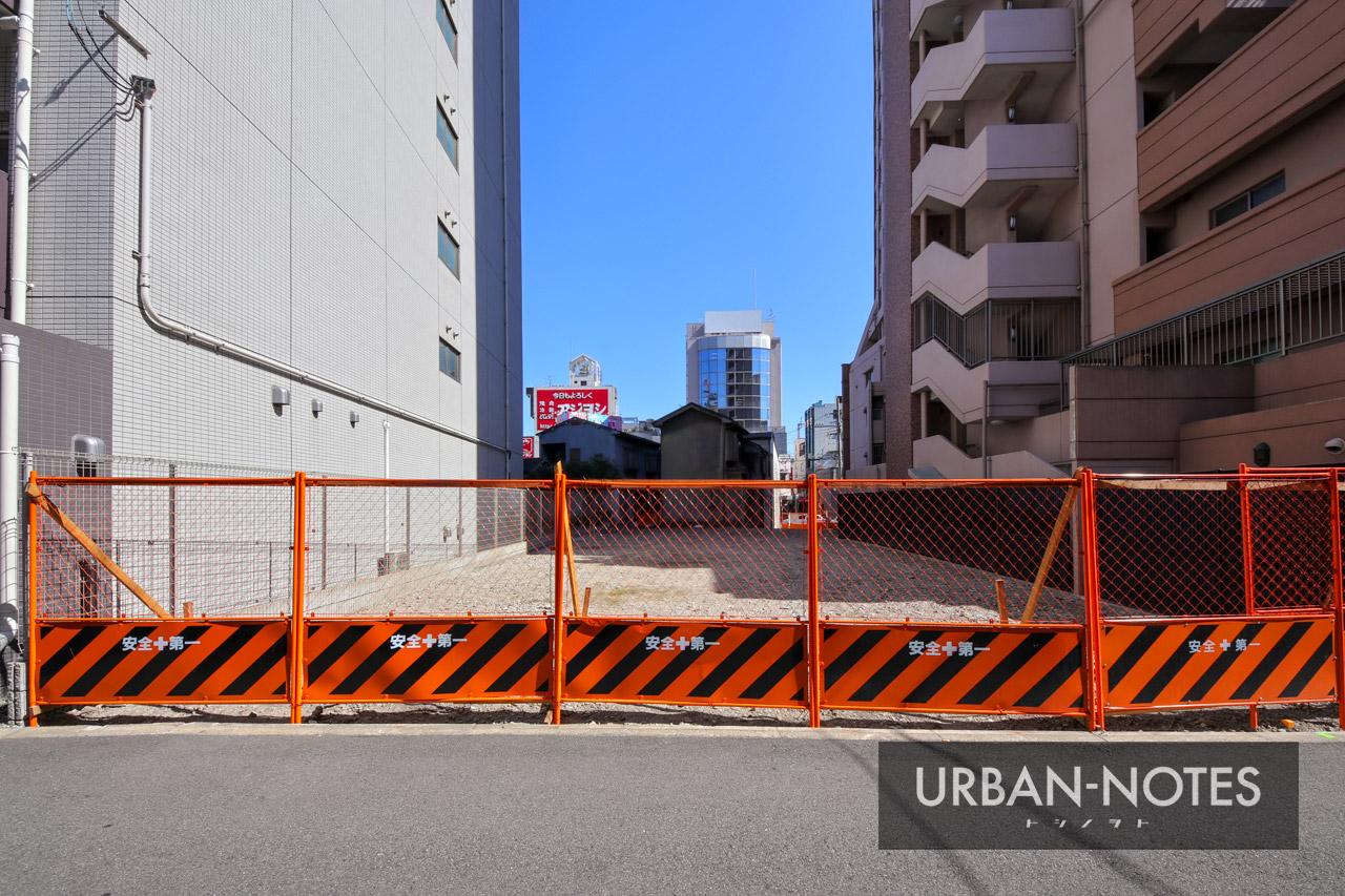 (仮称)天王寺区味原町ホテル 新築工事 2019年10月 03