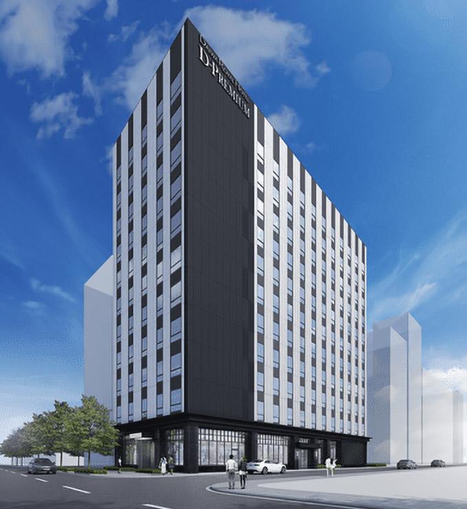 ダイワロイヤルホテル D-PREMIUM 大阪新梅田 完成イメージ図