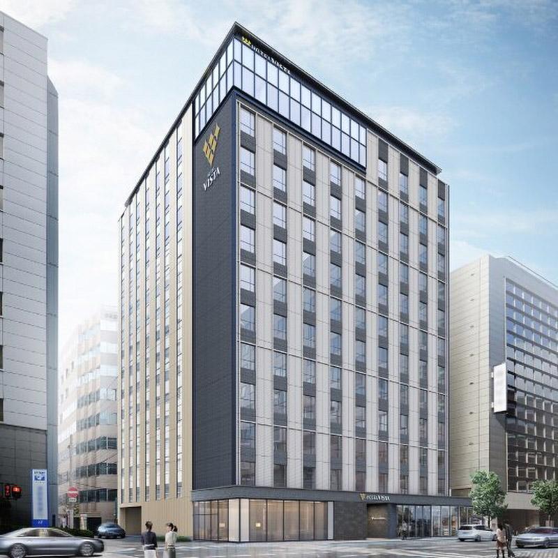 ホテルビスタプレミオ大阪 本町 完成イメージ図