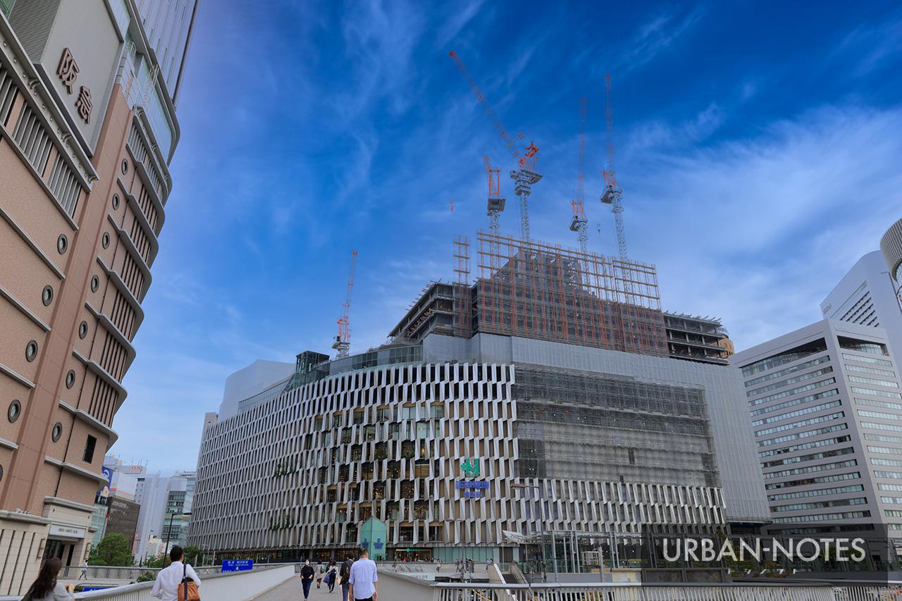 大阪梅田ツインタワーズ・サウス (梅田1丁目1番地計画) 2020年10月 05