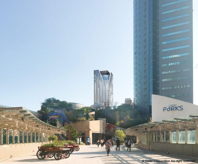 センタラグランドホテル大阪 完成イメージ図