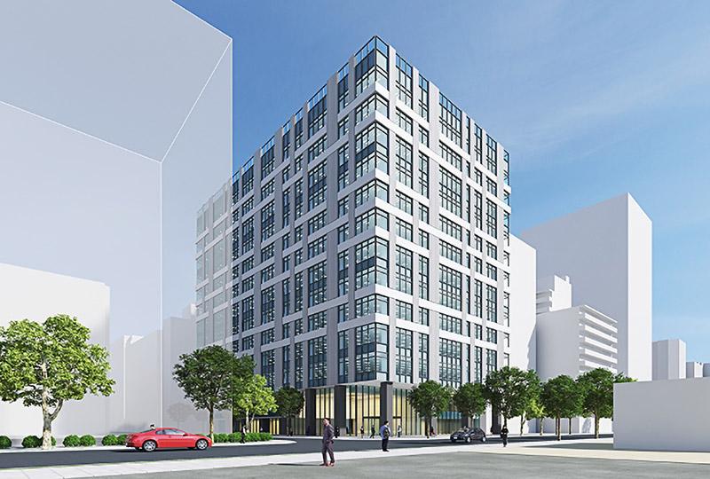 (仮称)新大阪オフィス計画 完成イメージ図
