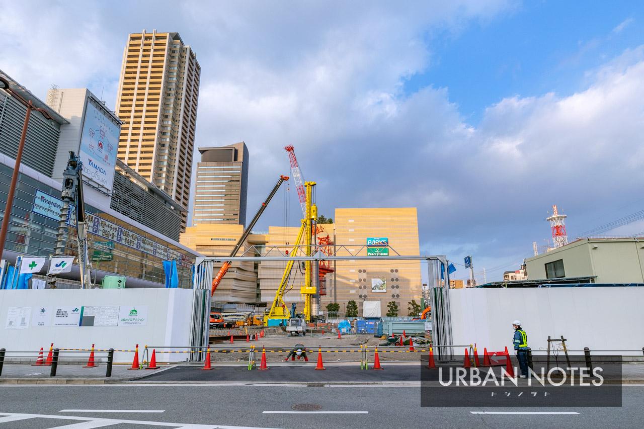 (仮称)難波中二丁目開発計画 B敷地計画 2020年12月 01