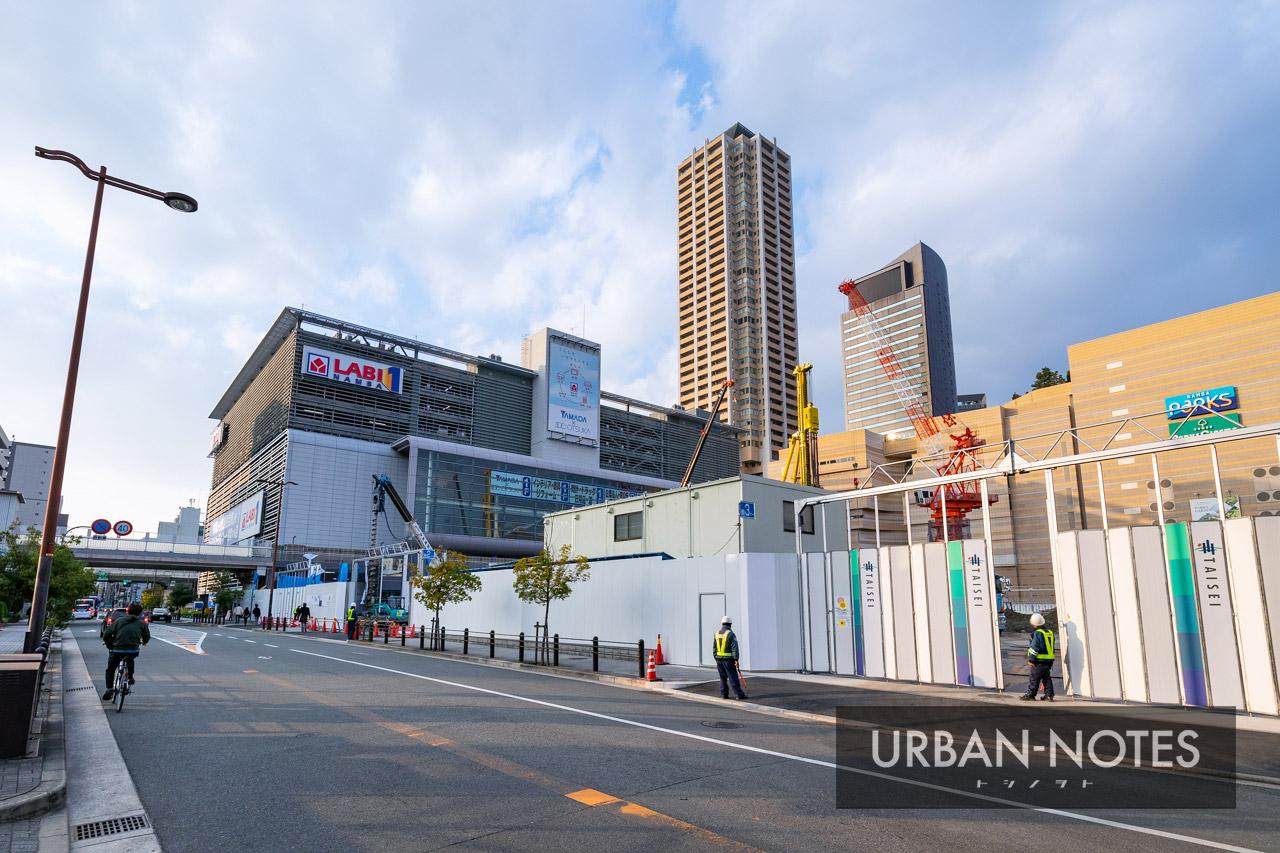 (仮称)ホテル京阪なんばグランデ(難波中二丁目開発C敷地) 2020年12月 01