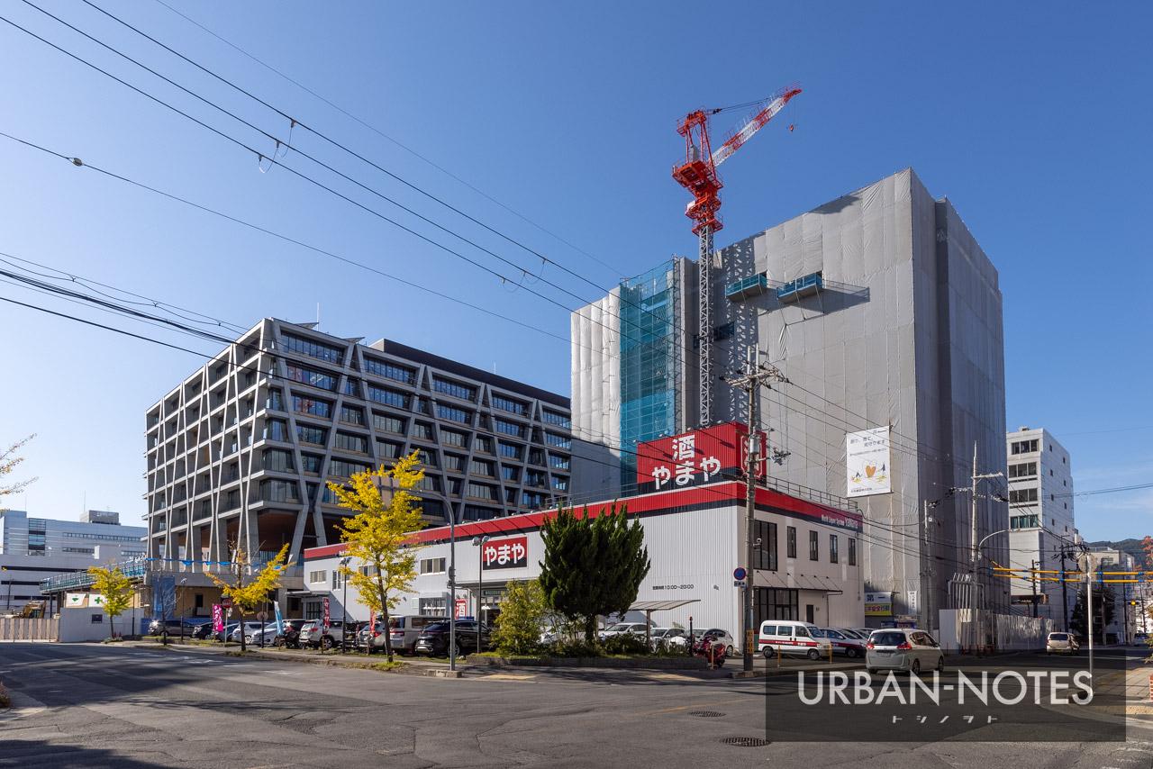 大阪大学グローバルビレッジ箕面船場 & 大阪大学箕面新キャンパス 2020年11月