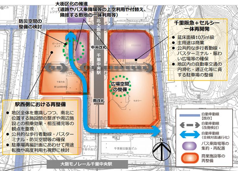 千⾥中央地区活性化基本計画 位置図