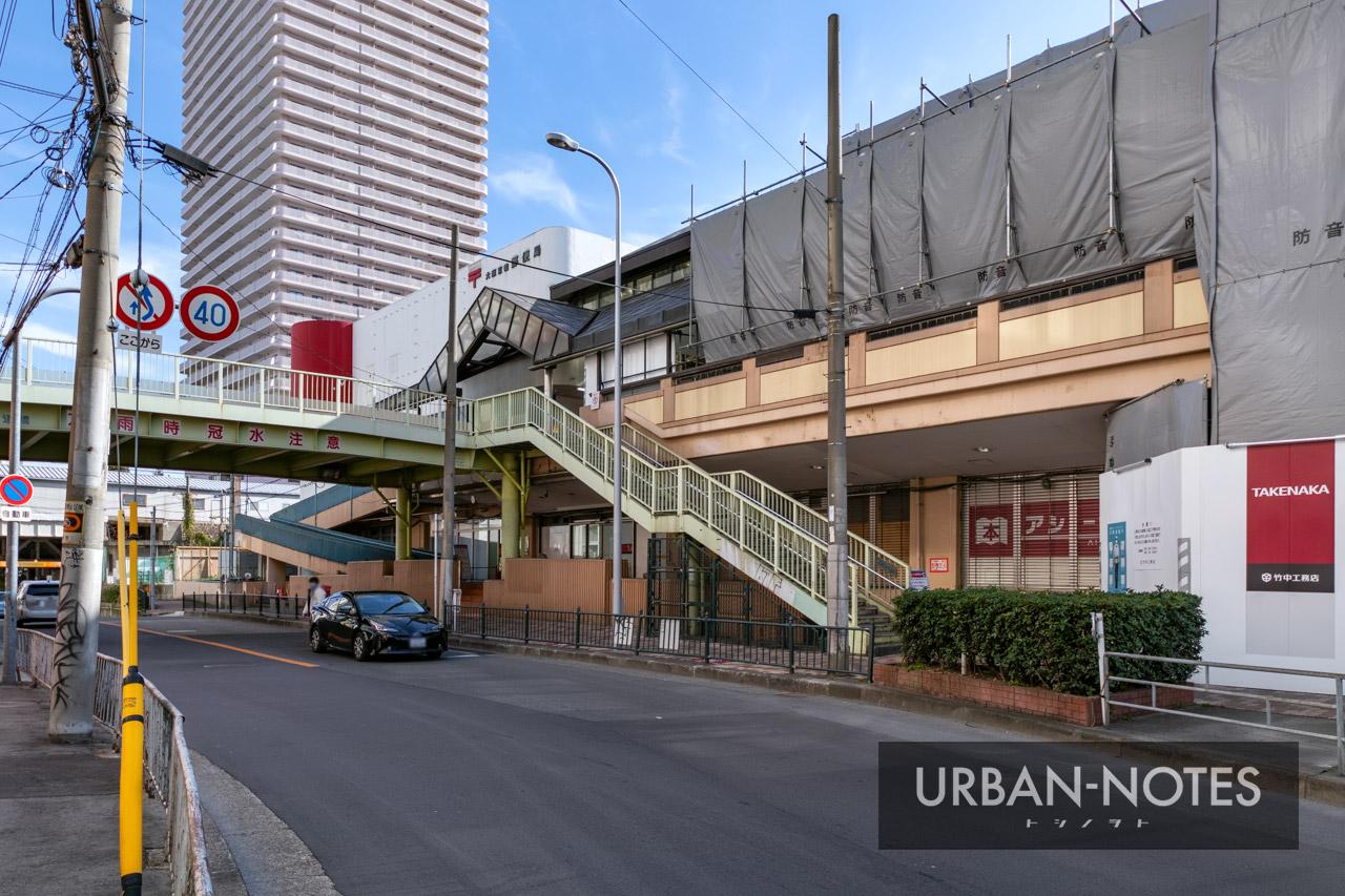 イオン京橋店 解体工事 2021年1月 06