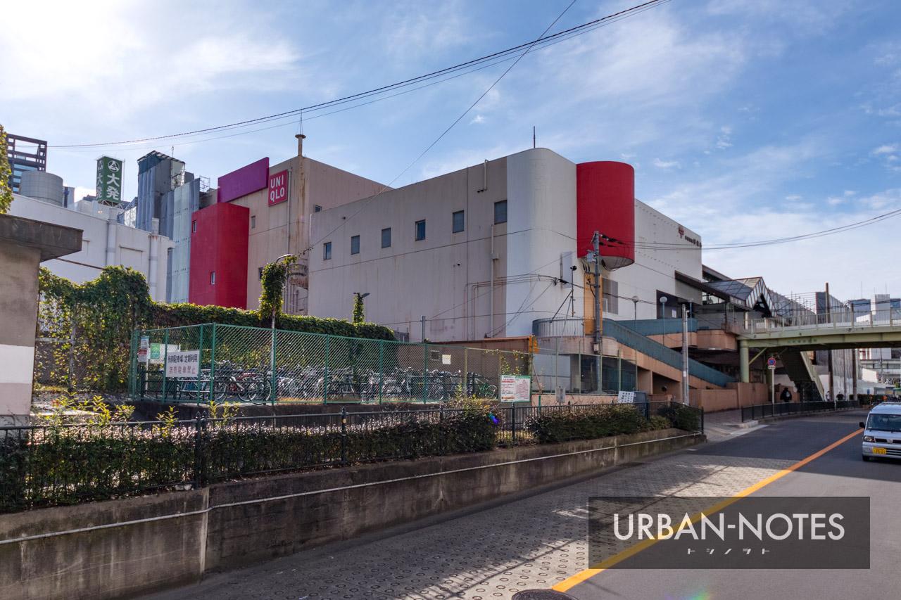イオン京橋店 解体工事 2021年1月 08