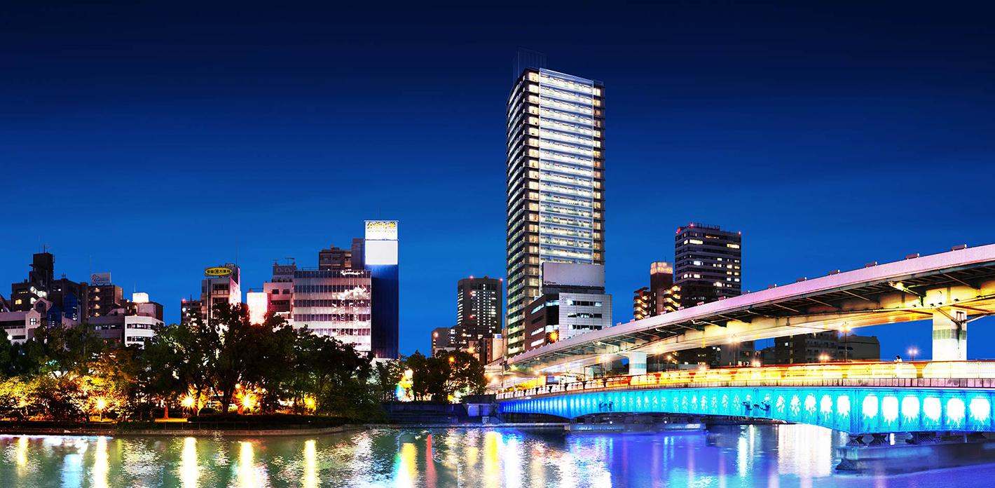 シエリアタワー大阪天満橋 完成イメージ図