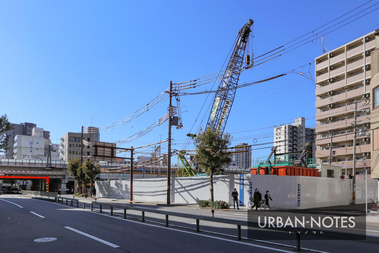 (仮称)大阪市福島区福島7丁目計画 2021年1月 01