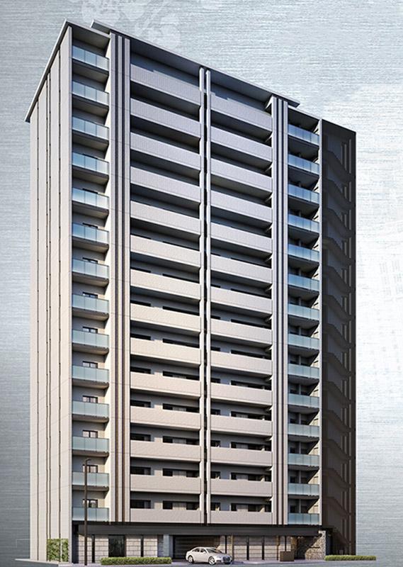 ローレルコート上本町七丁目 北館 完成イメージ図