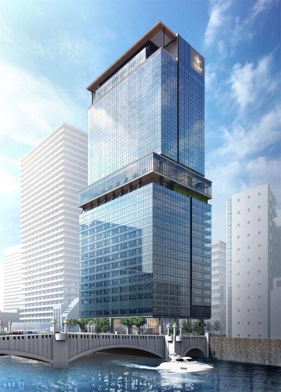 (仮称)大阪三菱ビル建替え計画 完成イメージ図 01