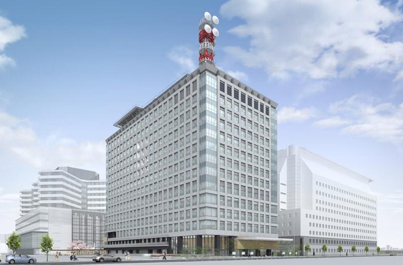 大阪第6地方合同庁舎 完成イメージ図