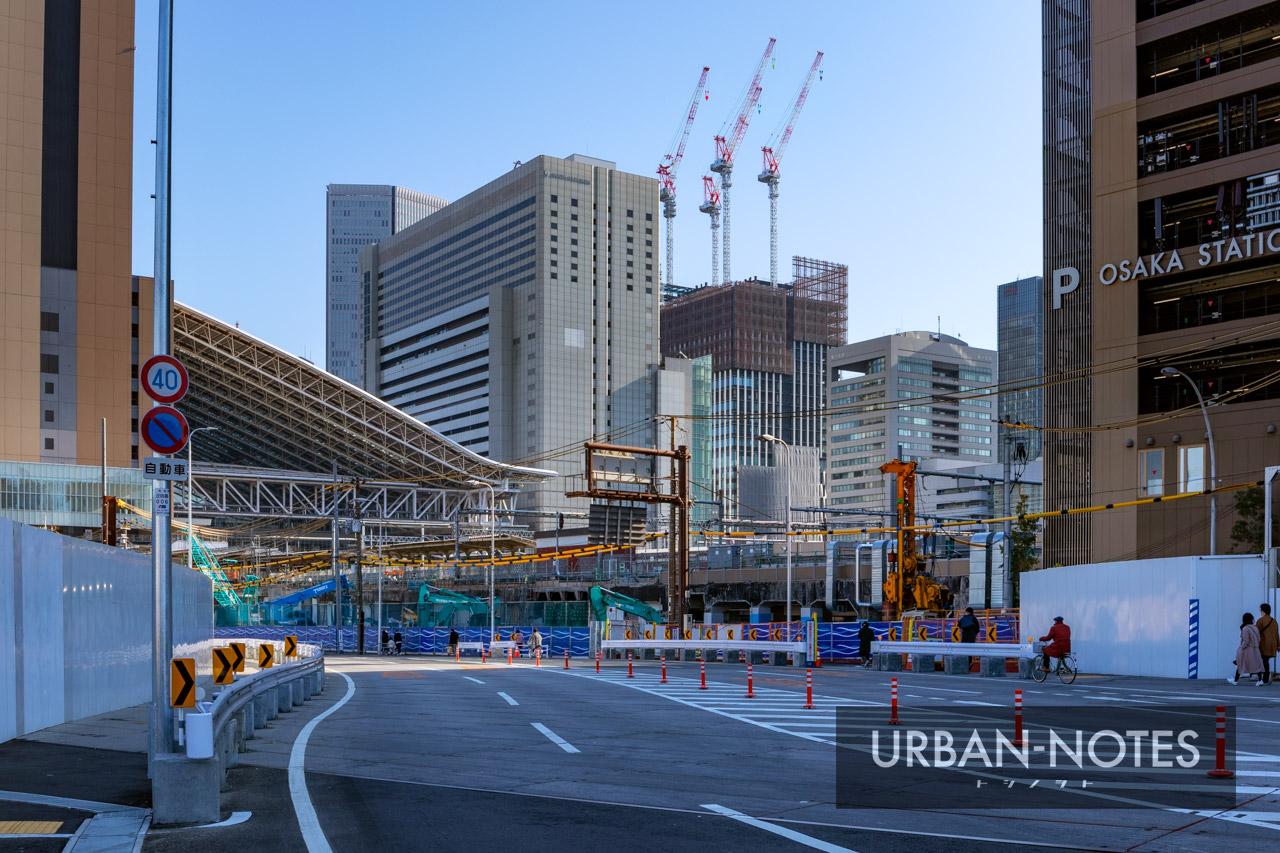 大阪駅西高架エリア開発 新駅ビル 2020年12月 01