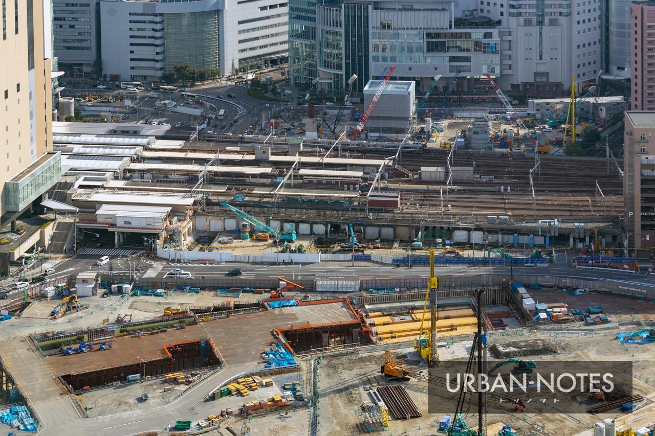 大阪駅西高架エリア開発 新駅ビル 2020年12月 06